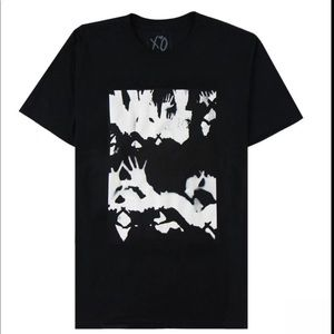 THE WEEKND CROWD TEE SMALL SOLD OUT
